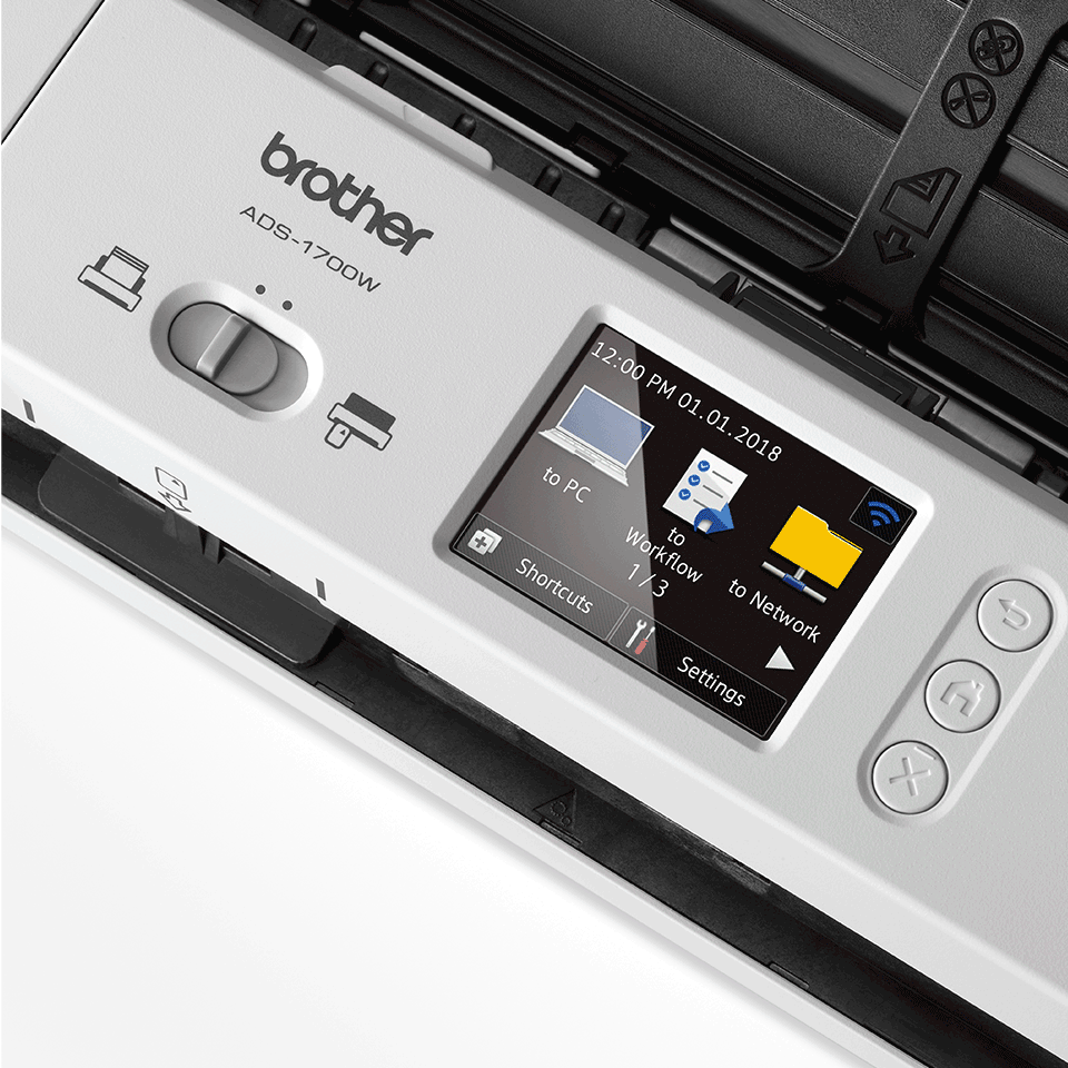 ADS-1700W kompaktní skener dokumentů pro náročné uživatele 8