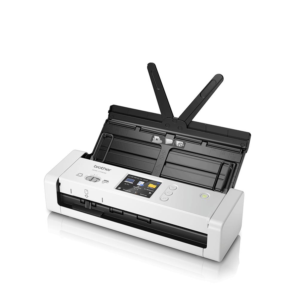 ADS-1700W kompaktní skener dokumentů pro náročné uživatele 2