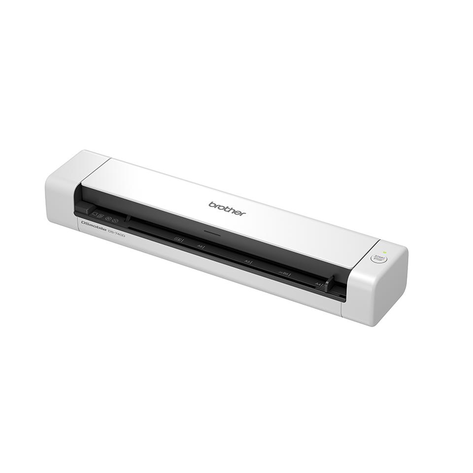 Bezdrátový oboustranný přenosný skener Brother DS-740D 2