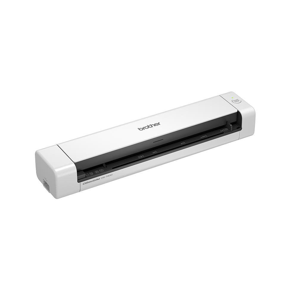 Bezdrátový oboustranný přenosný skener Brother DS-740D 3