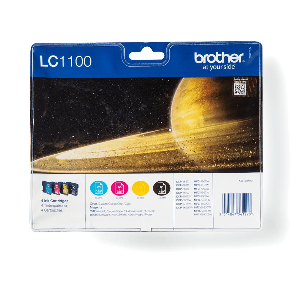 Sada originálních inkoustových kazet Brother LC1100VALBP