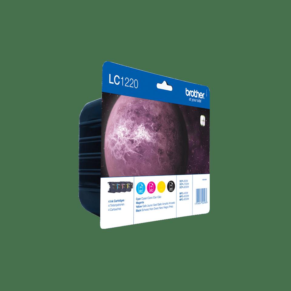 Sada originálních inkoustových kazet Brother LC1220VALBP  2