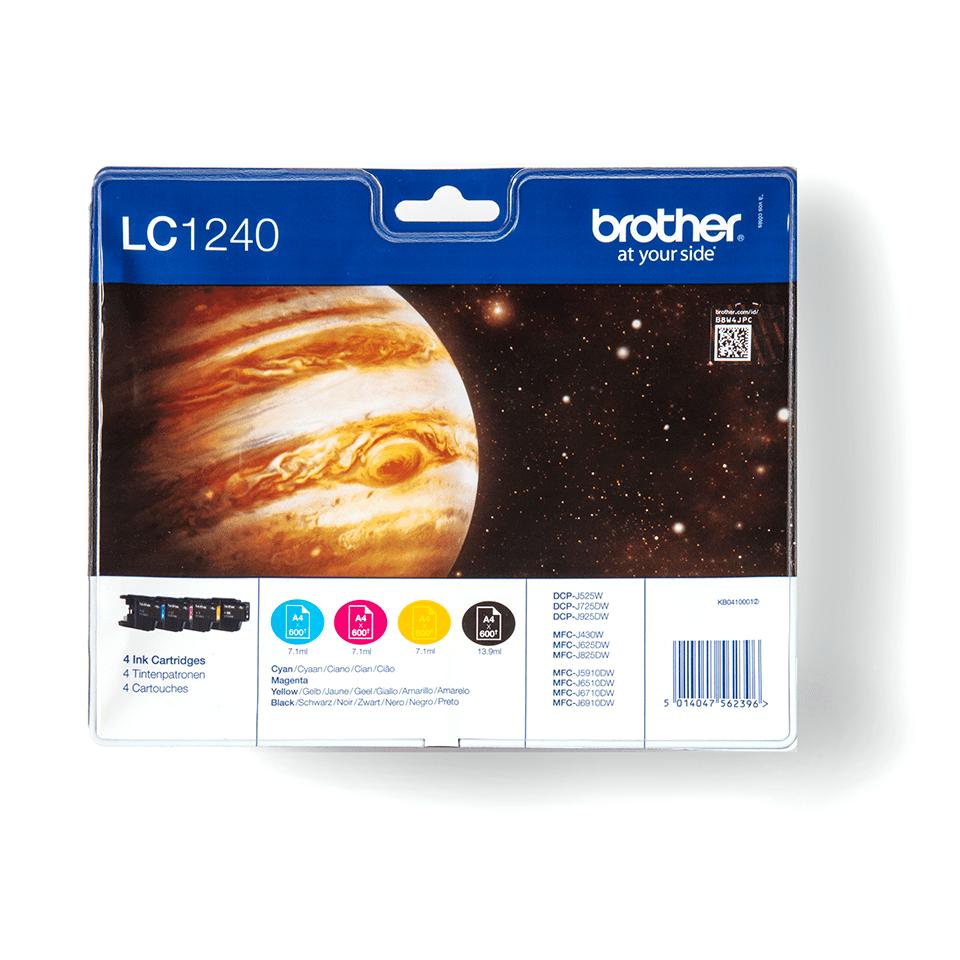Sada originálních inkoustových kazet Brother LC1240VALBP