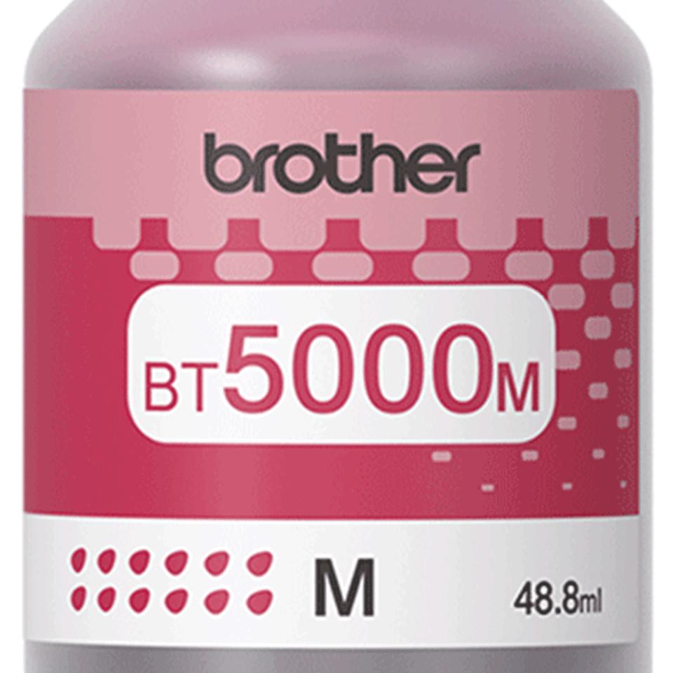 BT5000M originální purpurová inkoustová lahvička Brother s vysokou výtěžností 2