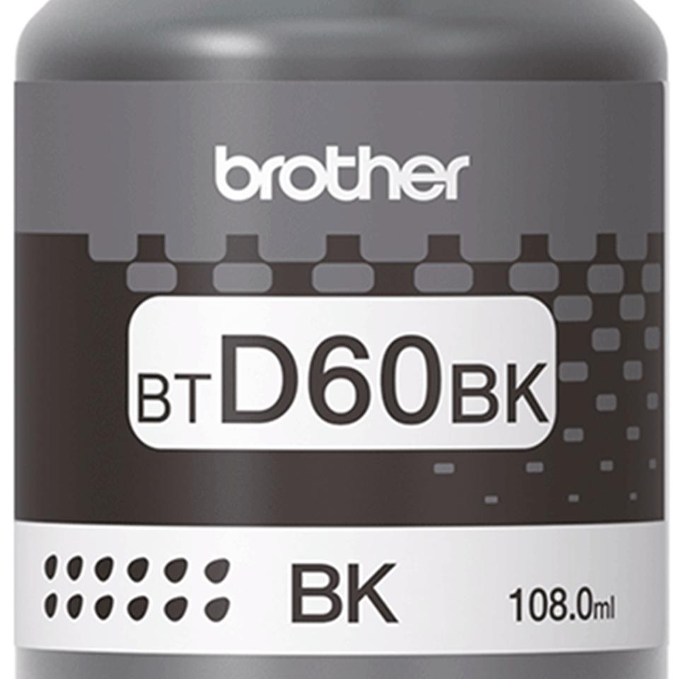 BTD60BK originální černá inkoustová lahvička Brother s vysokou výtěžností 3