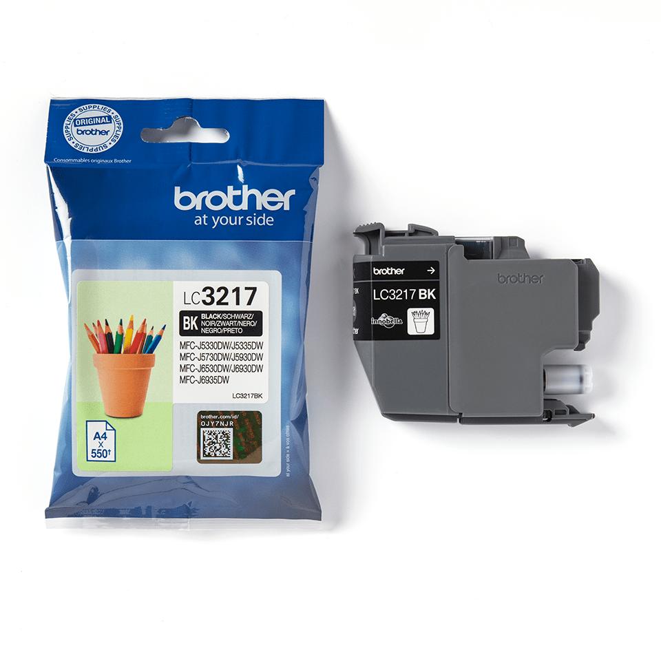 Originální inkoustová kazeta Brother LC3217BK - černá 3
