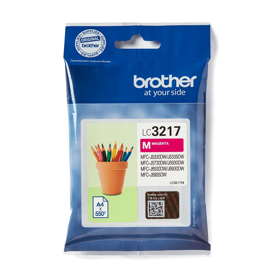 Genuine Brother LC3217M Ink Cartridge – Magenta 2