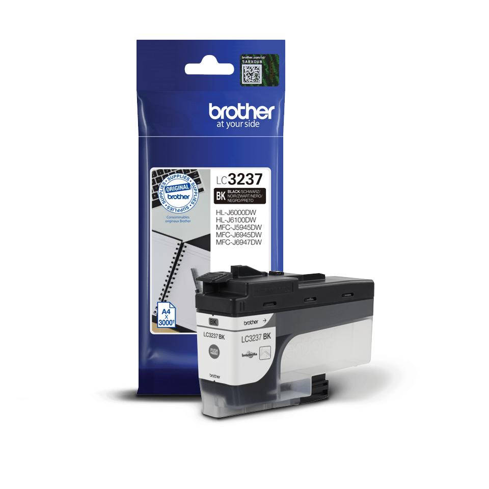 Originální inkoustová kazeta Brother LC3237BK - černá 2
