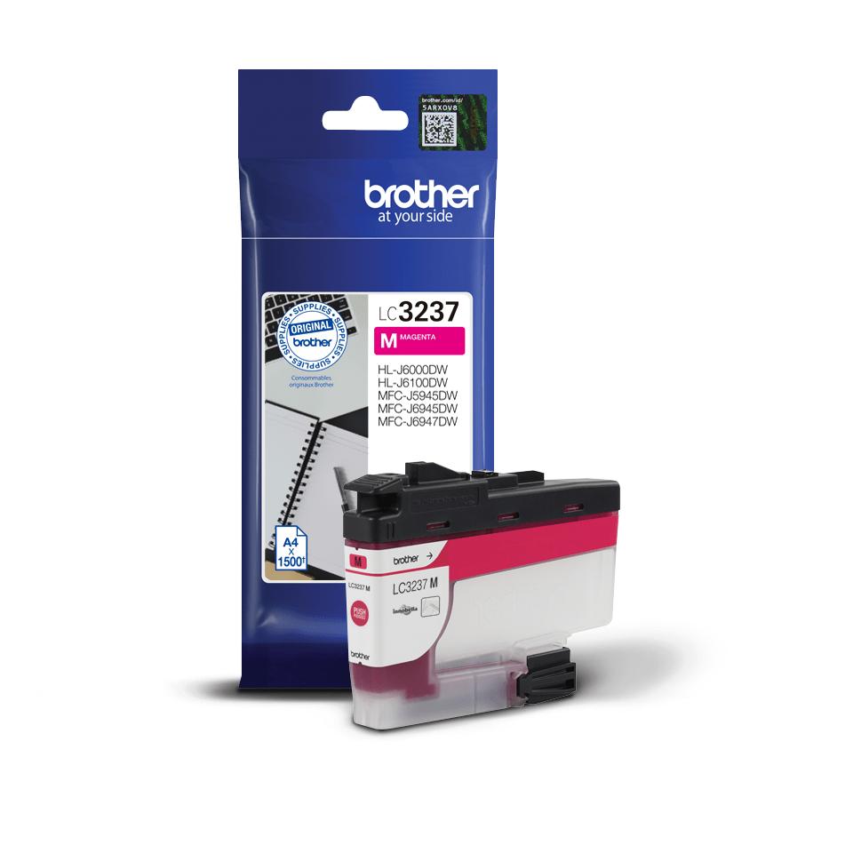 Originální inkoustová kazeta Brother LC3237M - purpurová 2