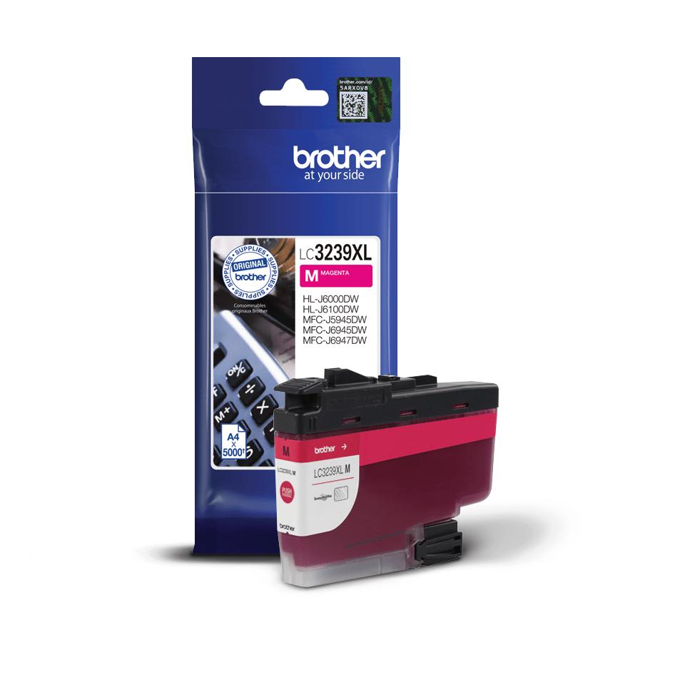 Originální Brother LC3239XLM Vysokokapacitní inkoustová kazeta - purpurová 3