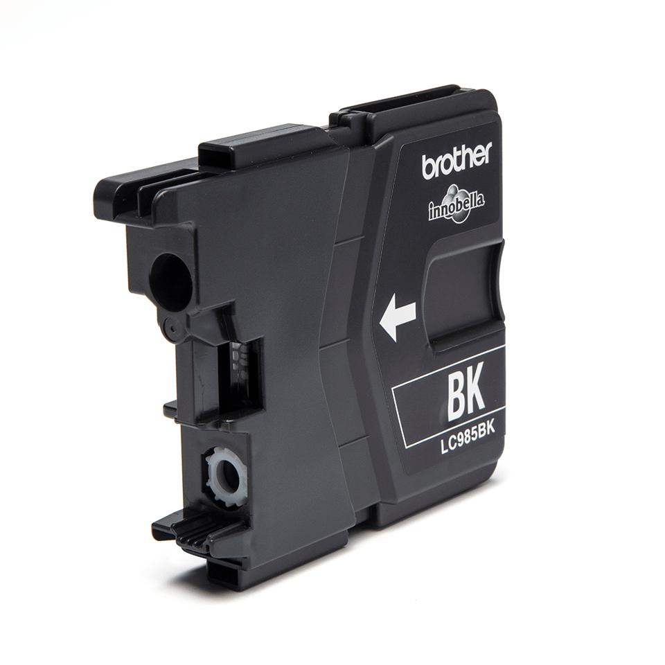 Originální inkoustová kazeta Brother LC985BK – černá  2