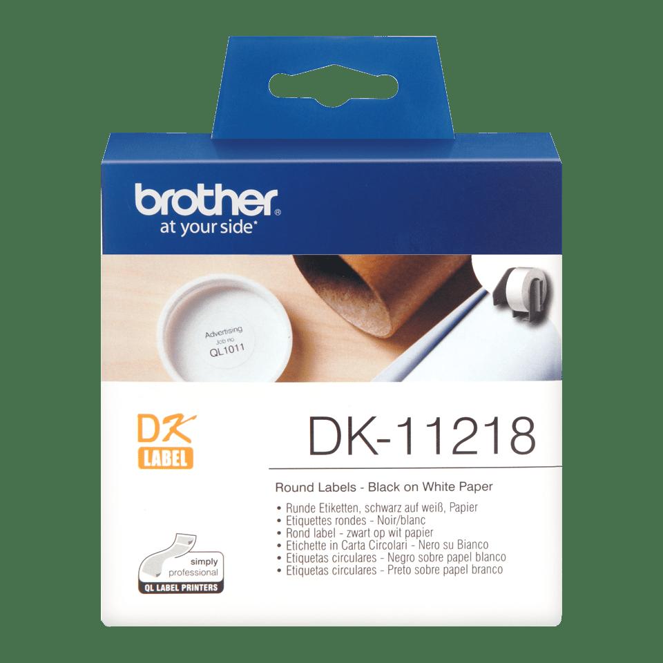 Originální štítek Brother DK-11218 - černá na bílé, 24 mm x 90 mm