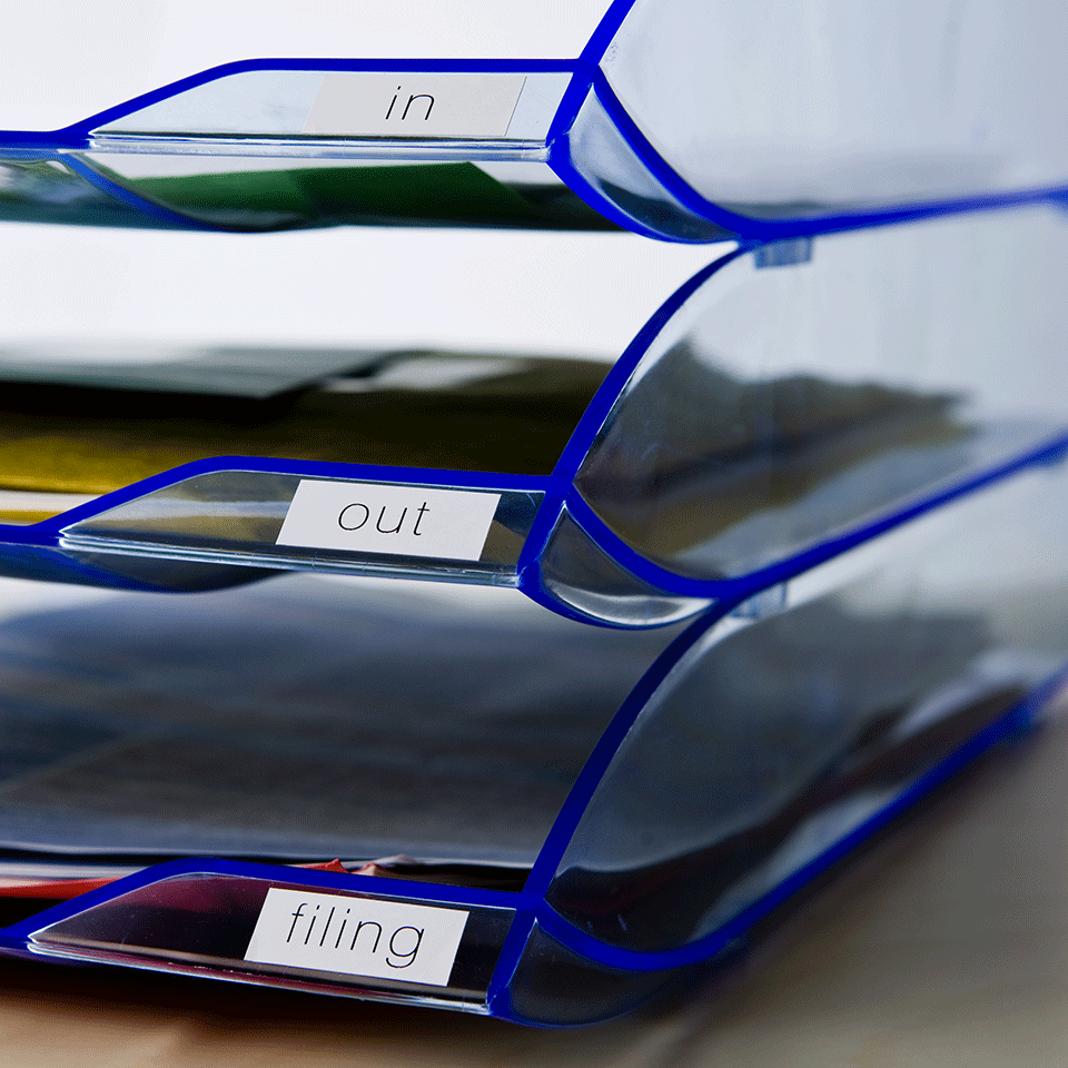 Originální Brother DK-22214 kontinuální papírová páska - černá na bílé, šířka 12 mm 2