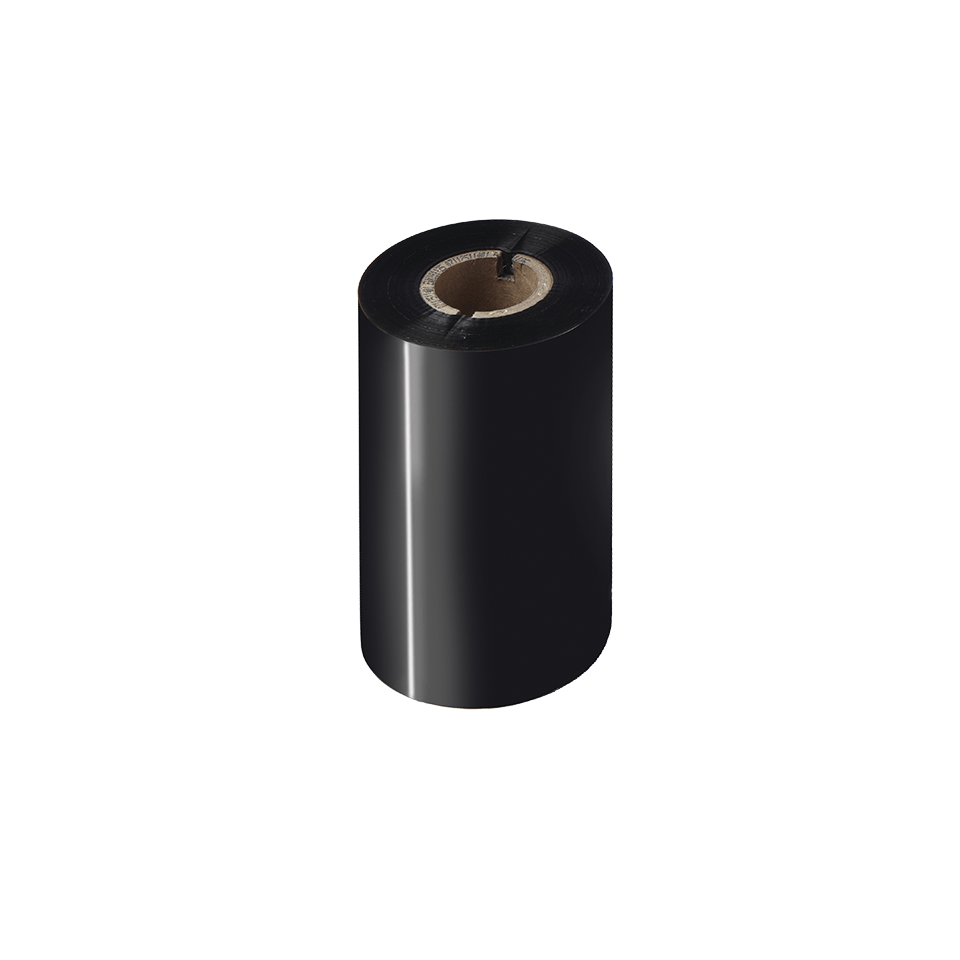 Prémiová vosková / pryskyřičná termotransferová černá barvonosná páska BSP-1D300-110