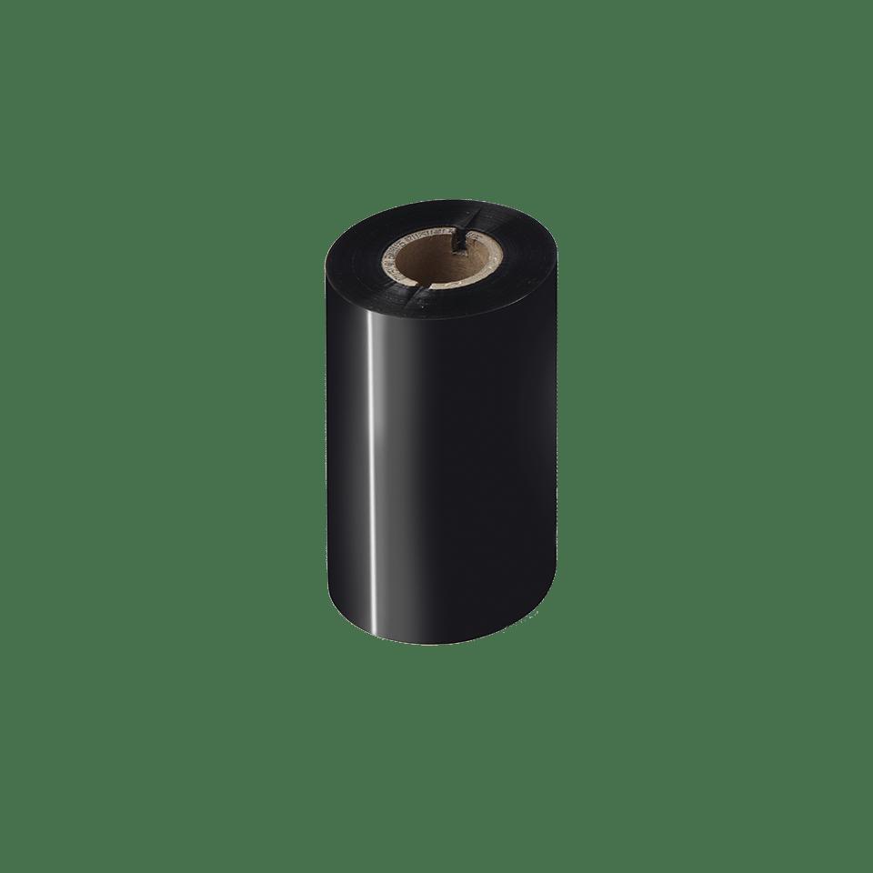 Standardní vosková / pryskyřičná termotransferová černá barvonosná páska BSS-1D300-110