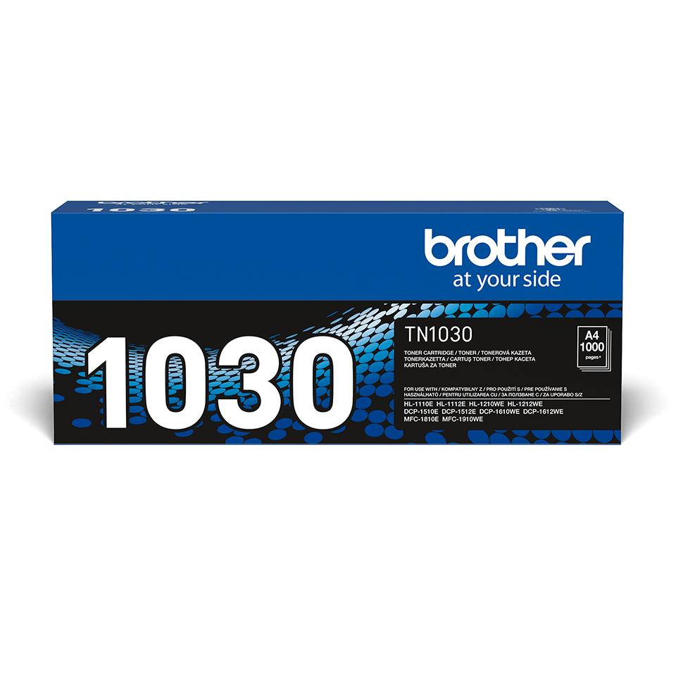 Originální tonerová kazeta Brother TN-1030 - černá