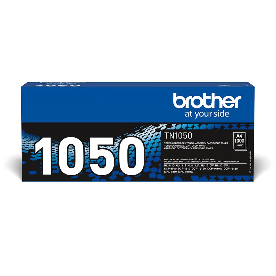 Originální tonerová kazeta Brother TN-1050 černá