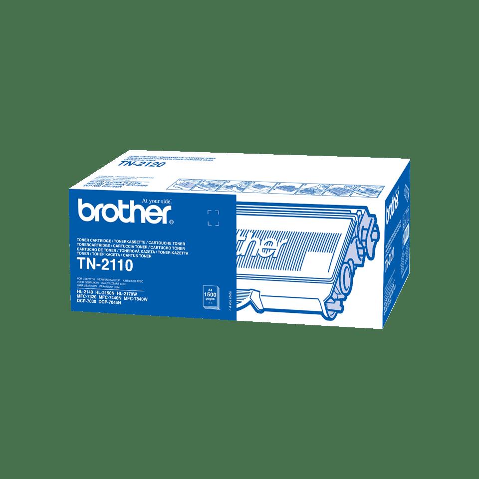 Originální tonerová kazeta Brother TN2110 – černá