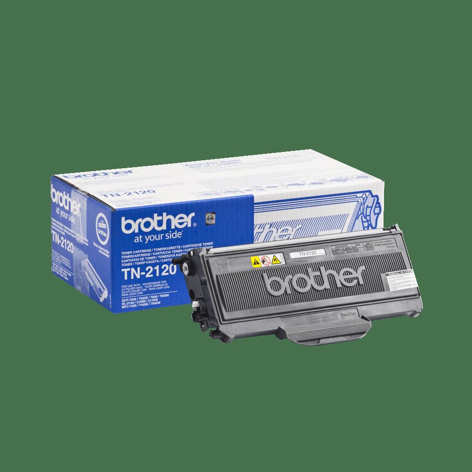 Originální tonerová kazeta Brother TN-2120 černá 2