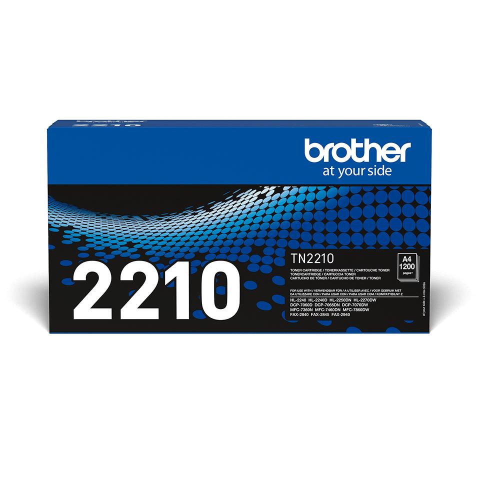 Originální tonerová kazeta Brother TN-2210 černá 2