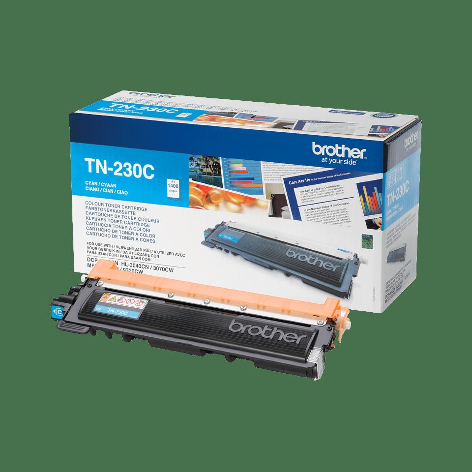 Originální tonerová kazeta Brother TN-230C - azurová