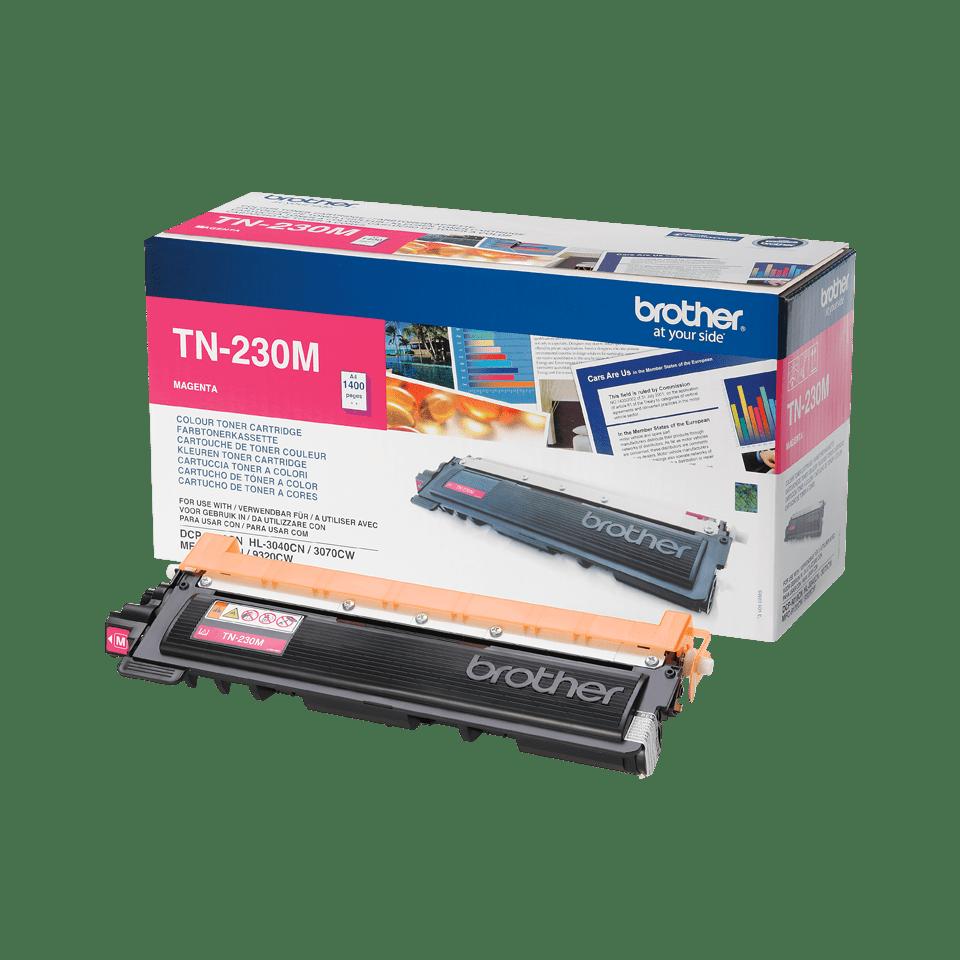 Originální tonerová kazeta Brother TN230M – purpurová 2