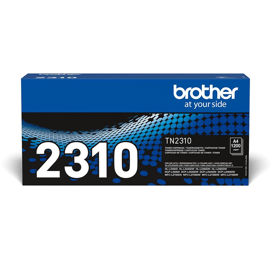 Originální tonerová kazeta Brother TN-2310 černá