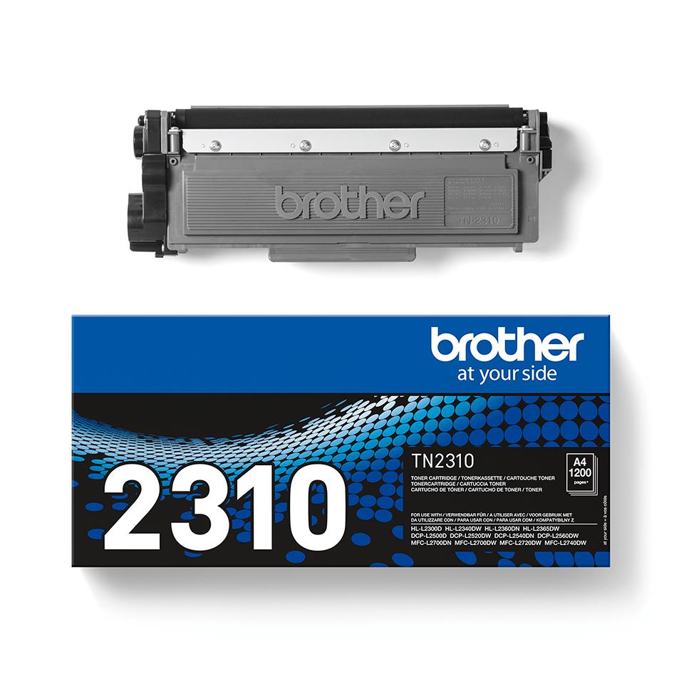 Originální tonerová kazeta Brother TN-2310 černá 3