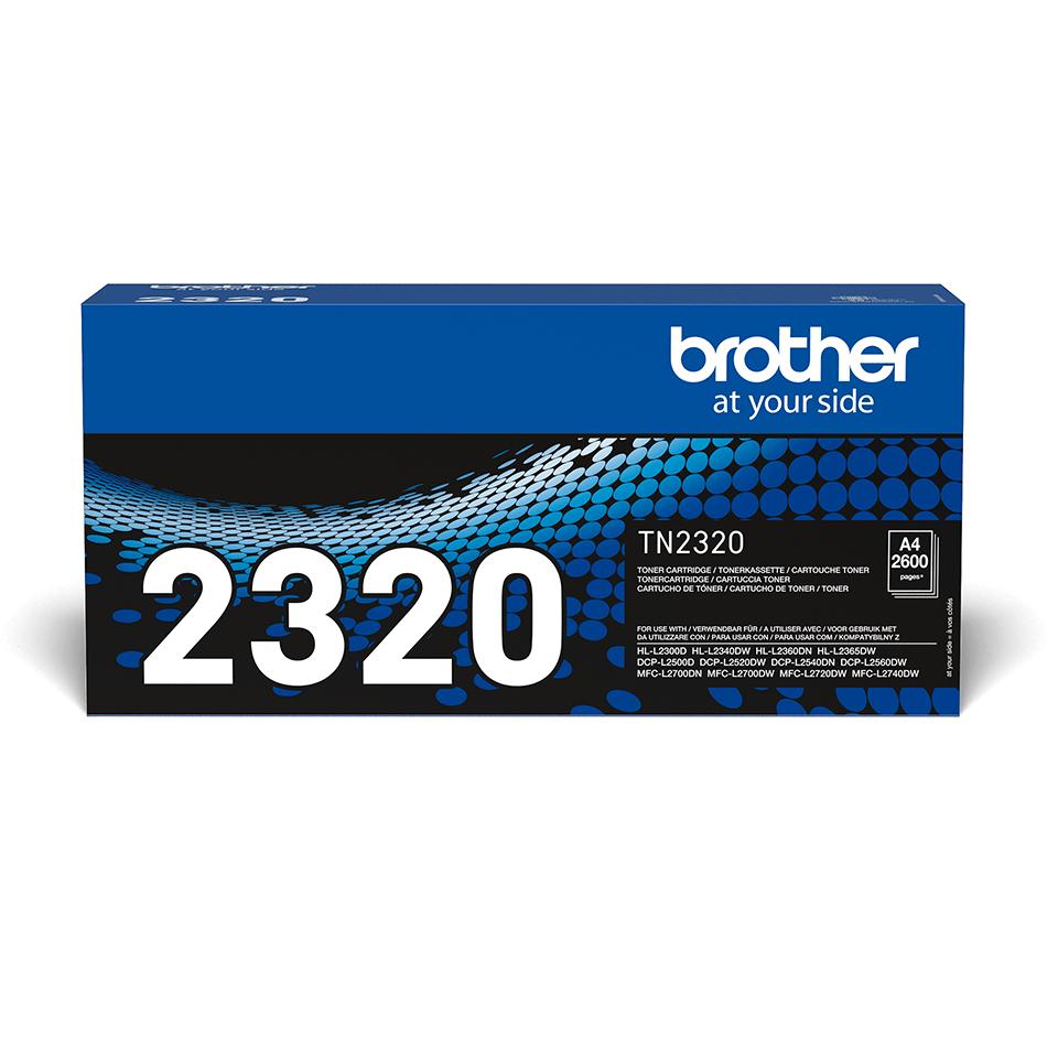 Originální tonerová kazeta Brother TN-2320