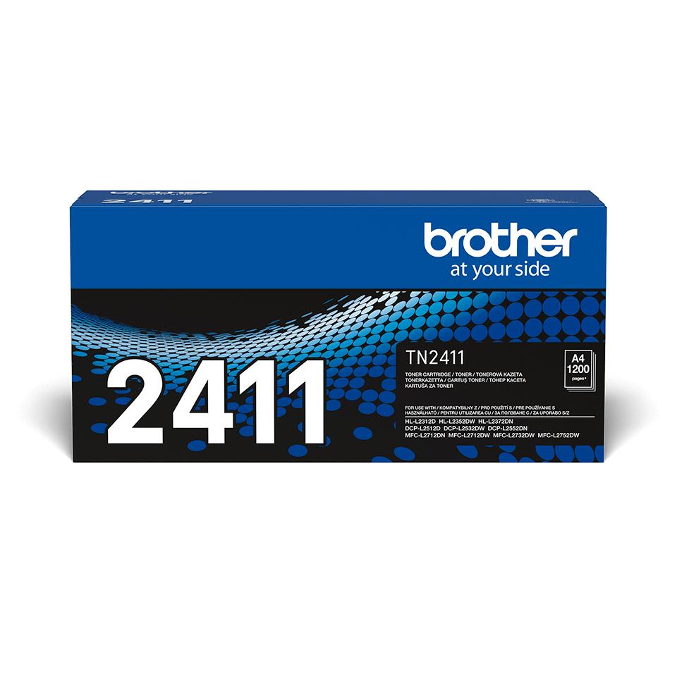 Originální Brother TN-2411 tonerová kazeta - černá