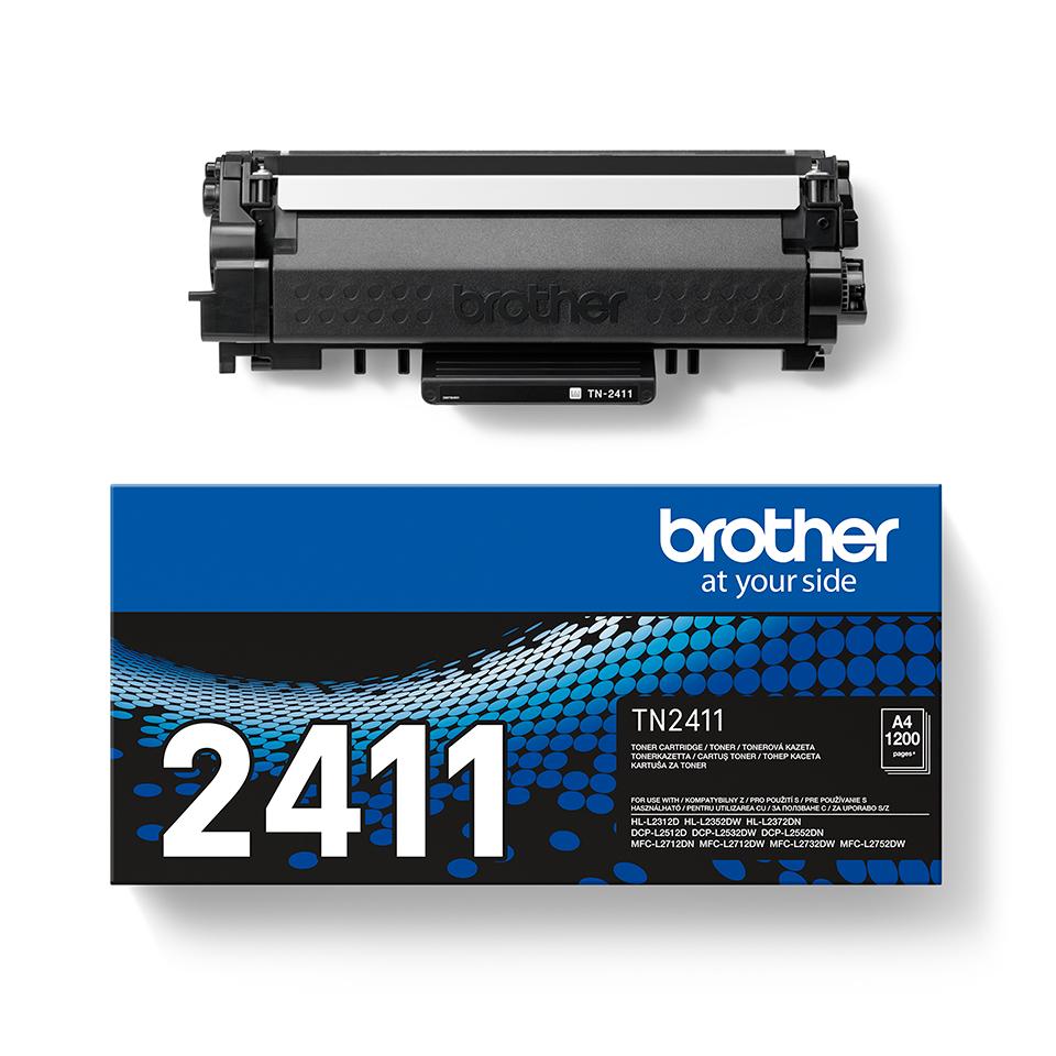Originální Brother TN-2411 tonerová kazeta - černá 2