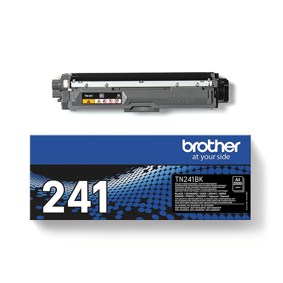 Originální tonerová kazeta Brother TN-241BK - černá 2