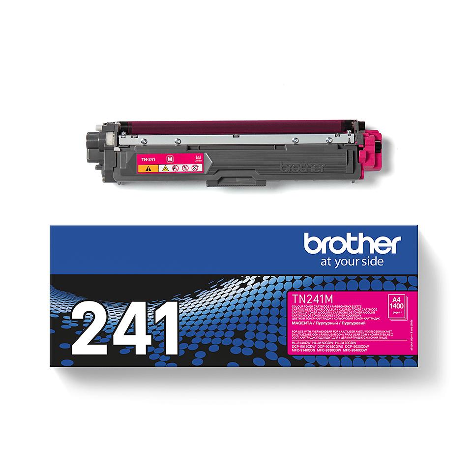 Originální tonerová kazeta Brother TN241M – purpurová 3