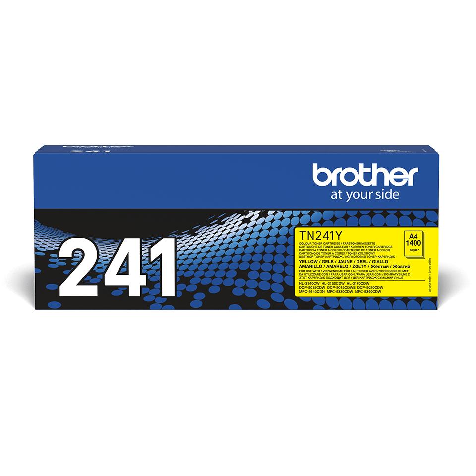 Originální tonerová kazeta Brother TN241Y – žlutá