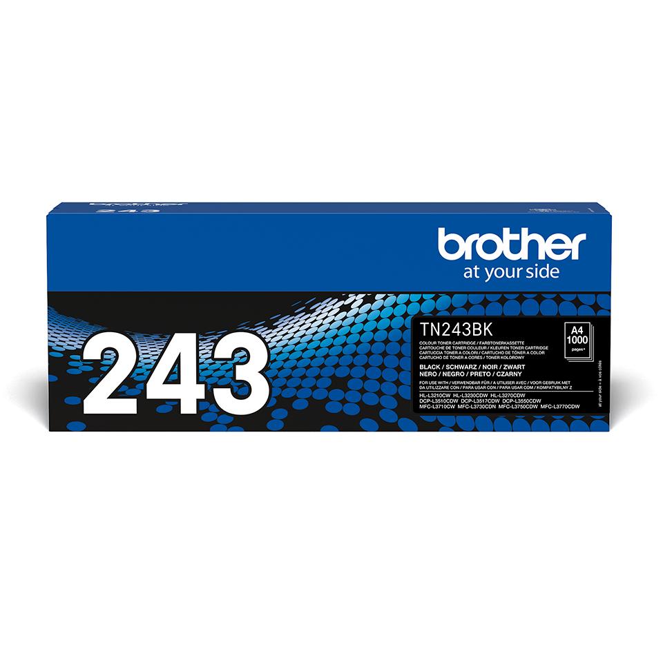 Originální tonerová kazeta Brother TN-243BK - černá 2