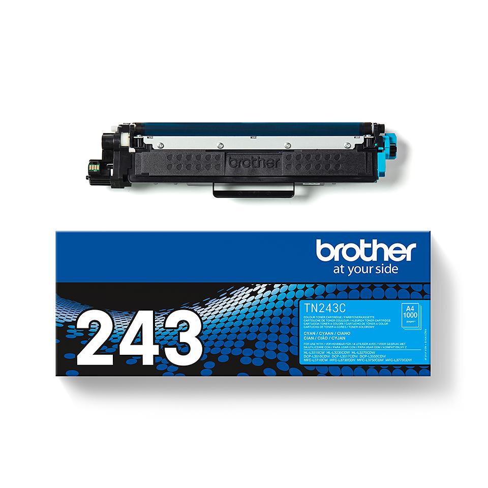Originální tonerová kazeta Brother TN-243C - azurová 3
