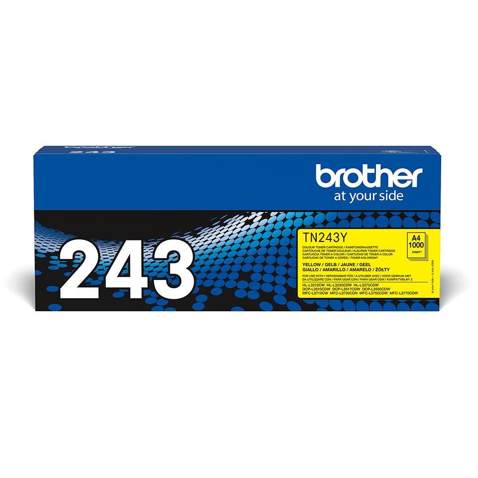 Originální tonerová kazeta Brother TN-243Y - žlutá 2