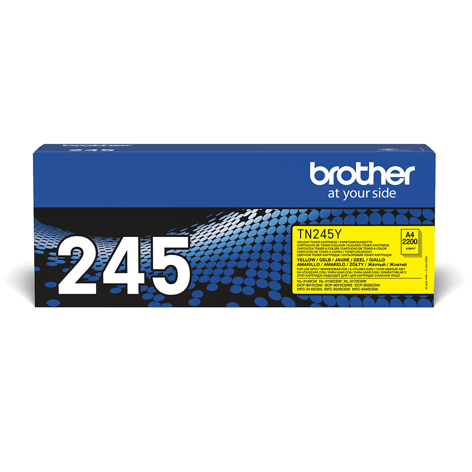 Originální tonerová kazeta Brother TN245Y – žlutá 2