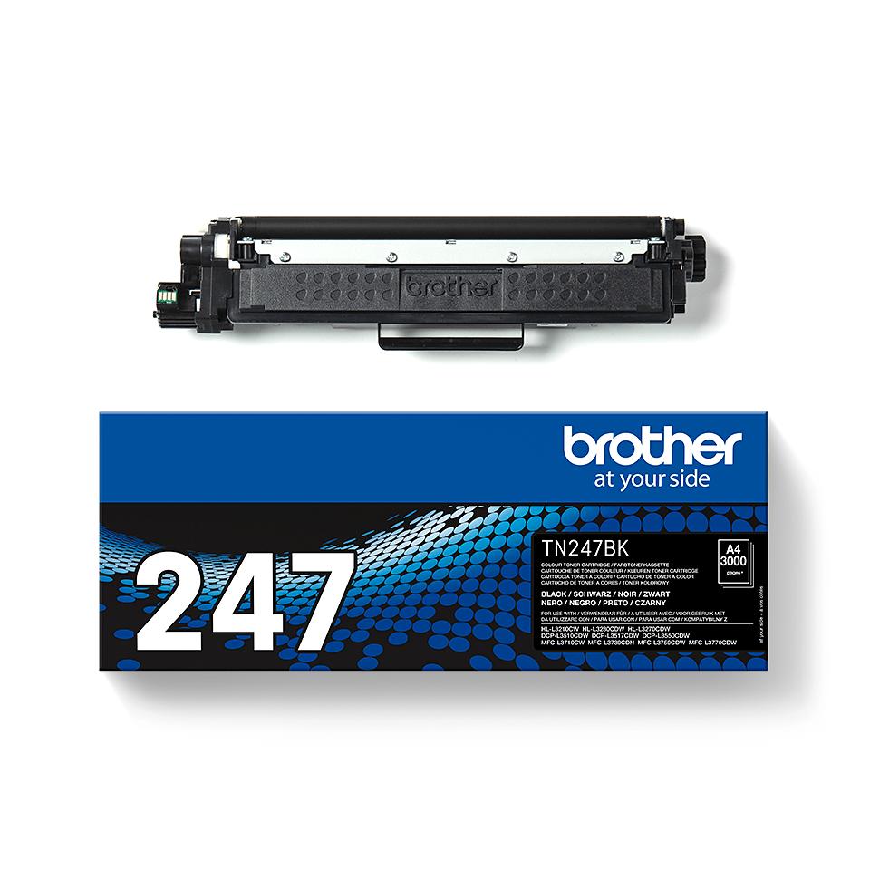 Originální tonerová kazeta Brother TN-247BK - černá 2