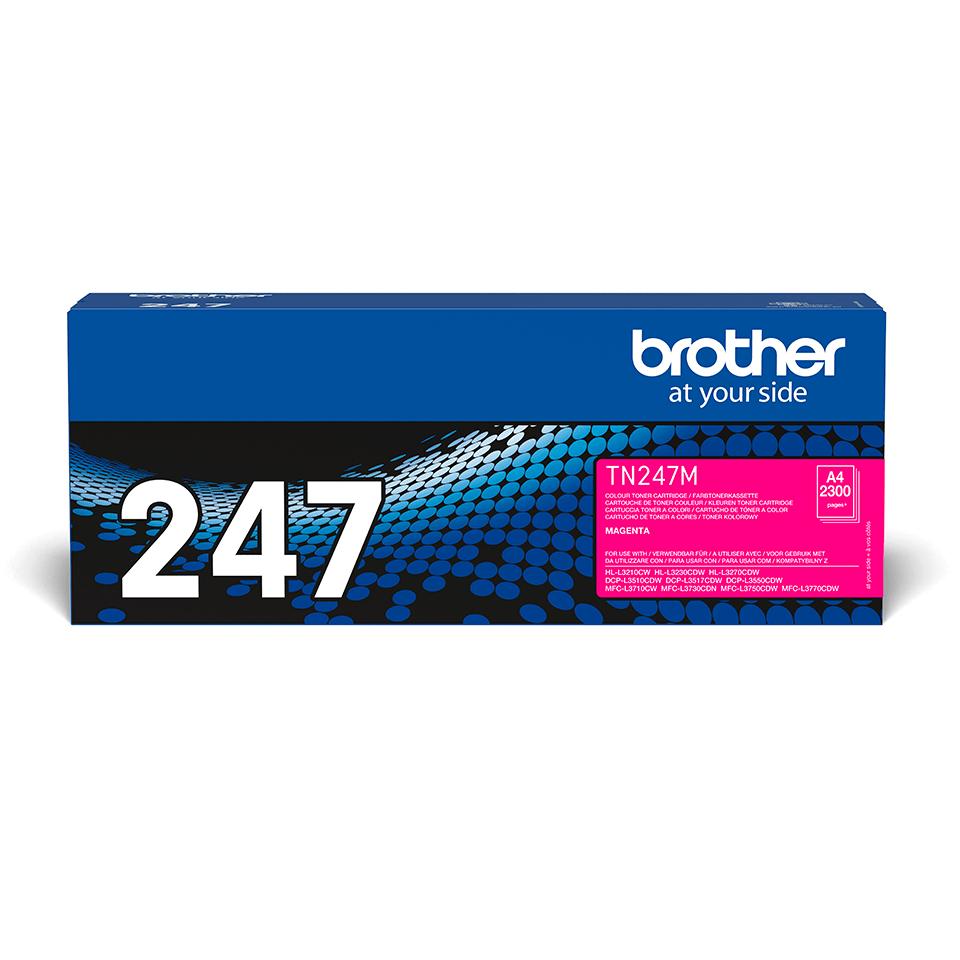 Originální tonerová kazeta Brother TN-247M - purpurová