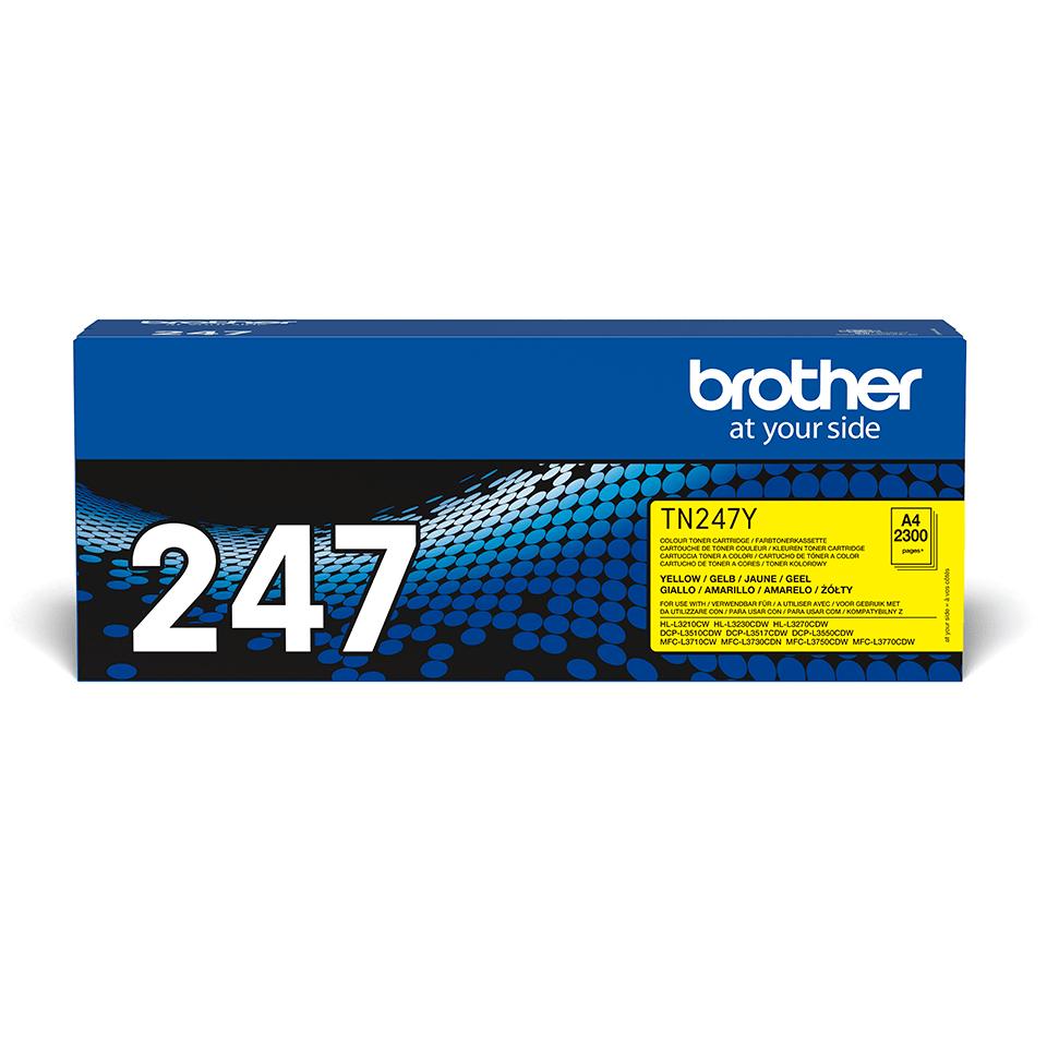 Originální tonerová kazeta Brother TN-247Y - žlutá
