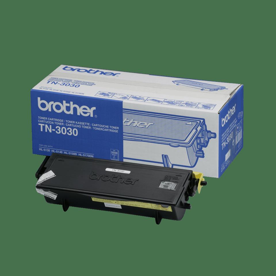 Originální tonerová kazeta Brother TN3030 s vysokou výtěžností – černá