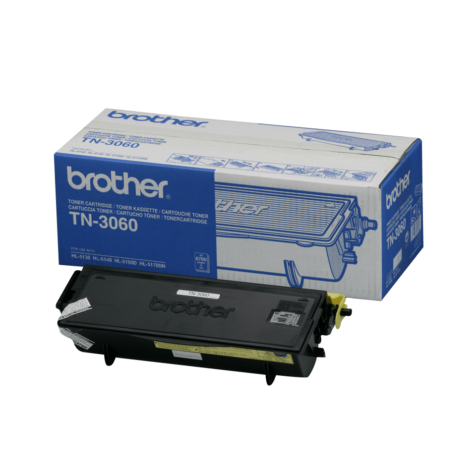 Originální tonerová kazeta Brother TN3060 s vysokou výtěžností – černá