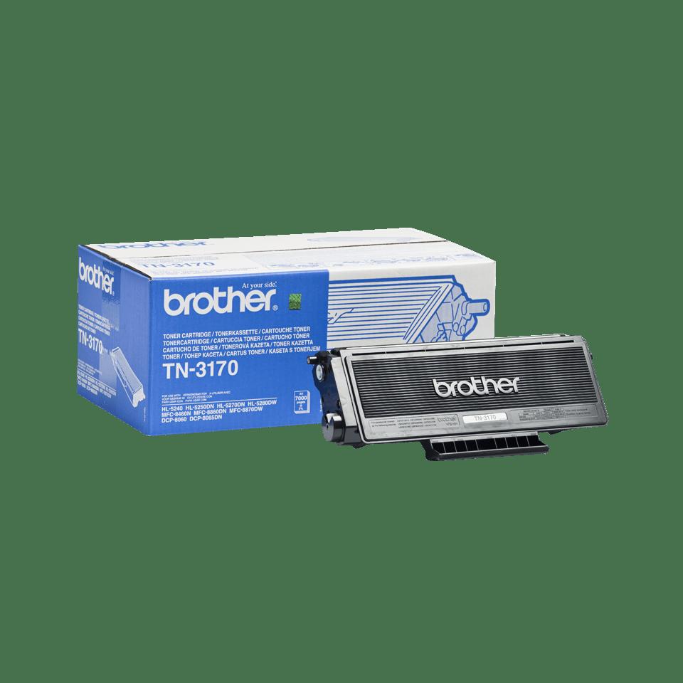 Originální tonerová kazeta Brother TN3170 s vysokou výtěžností – černá