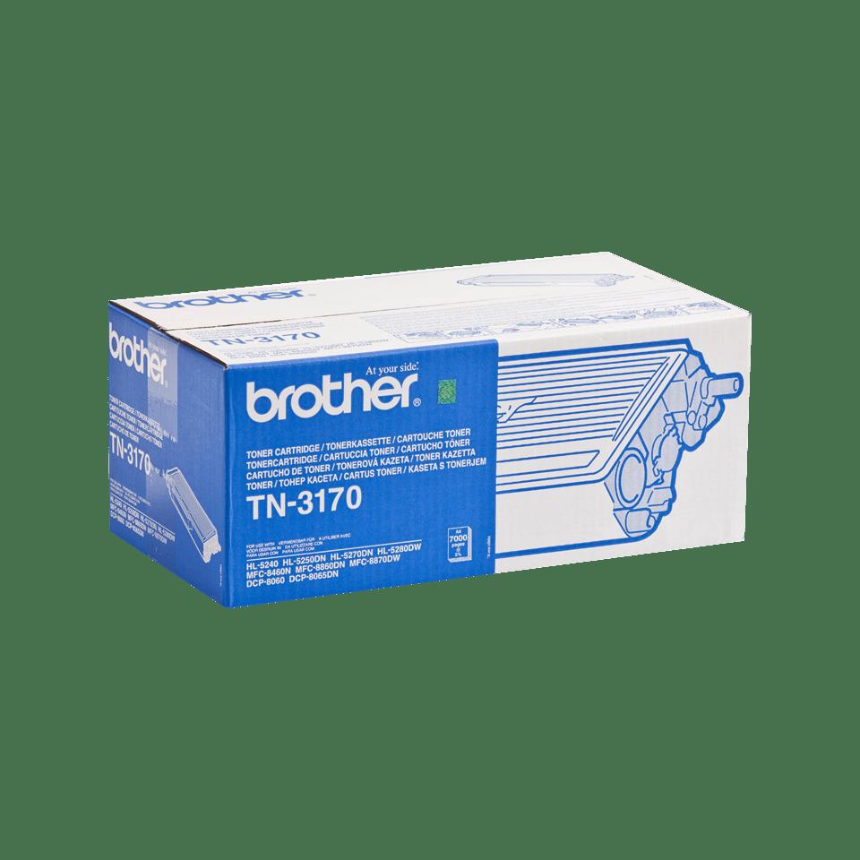 Originální tonerová kazeta Brother TN3170 s vysokou výtěžností – černá 2