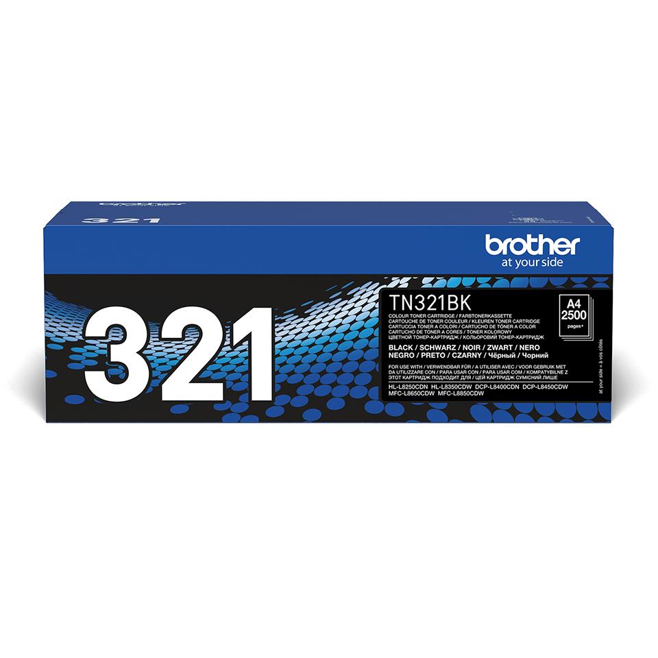 Originální tonerová kazeta Brother TN321BK – černá
