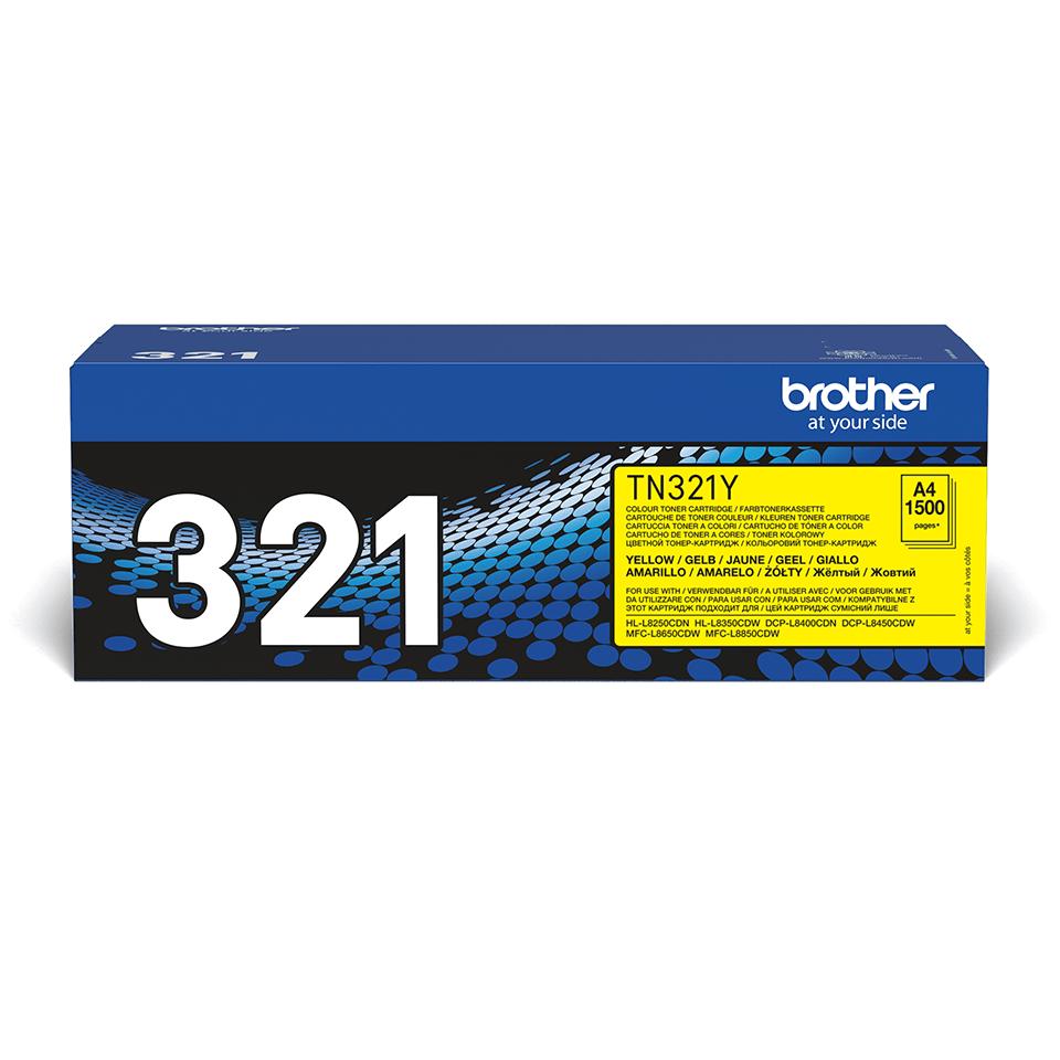 Originální tonerová kazeta Brother TN321Y – žlutá