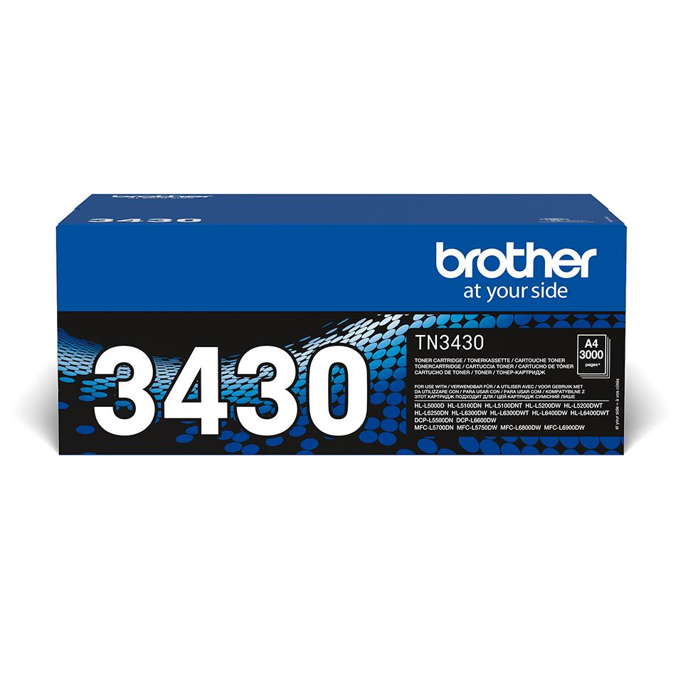 Originální tonerová kazeta Brother TN3430 – černá