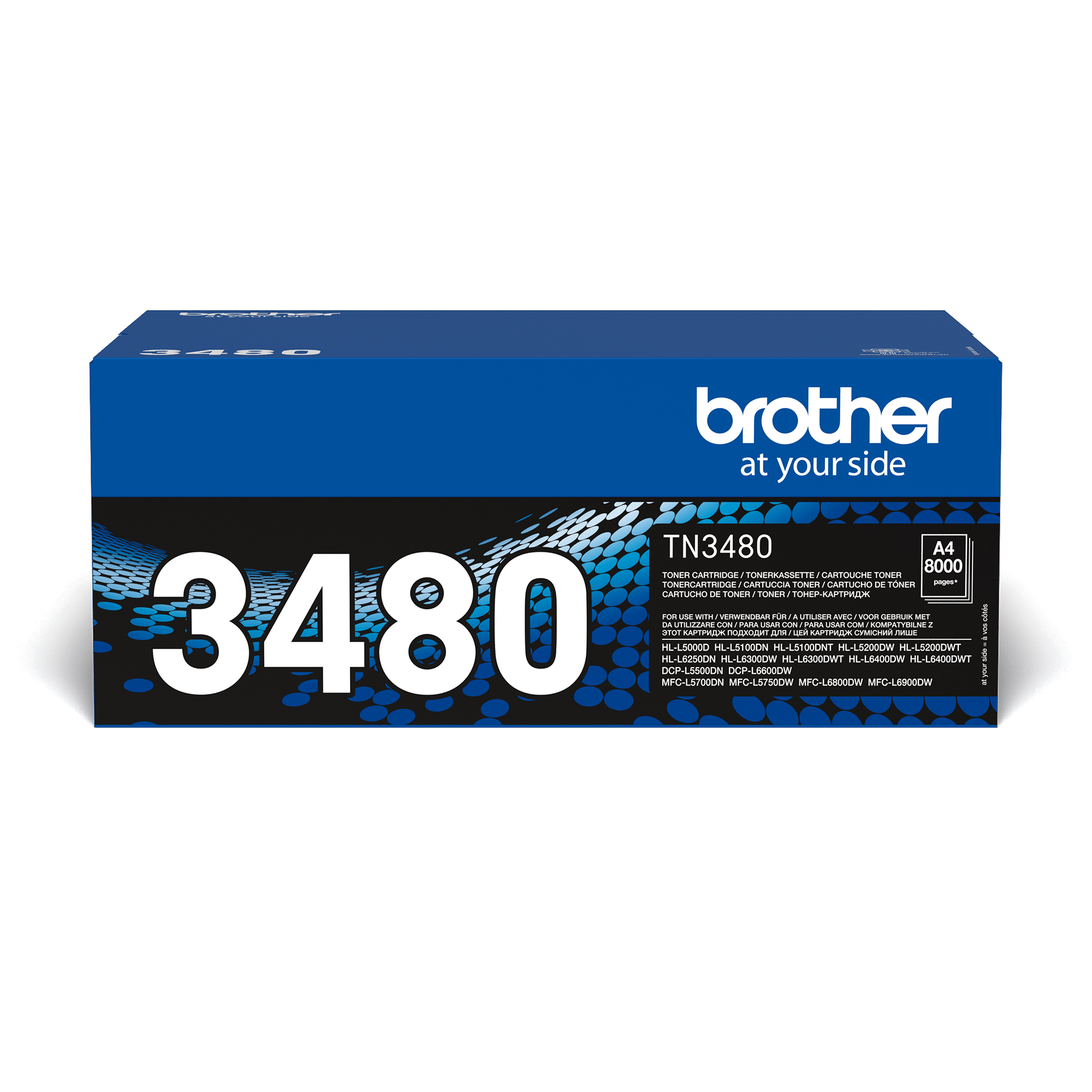 Originální tonerová kazeta Brother TN3480 – černá