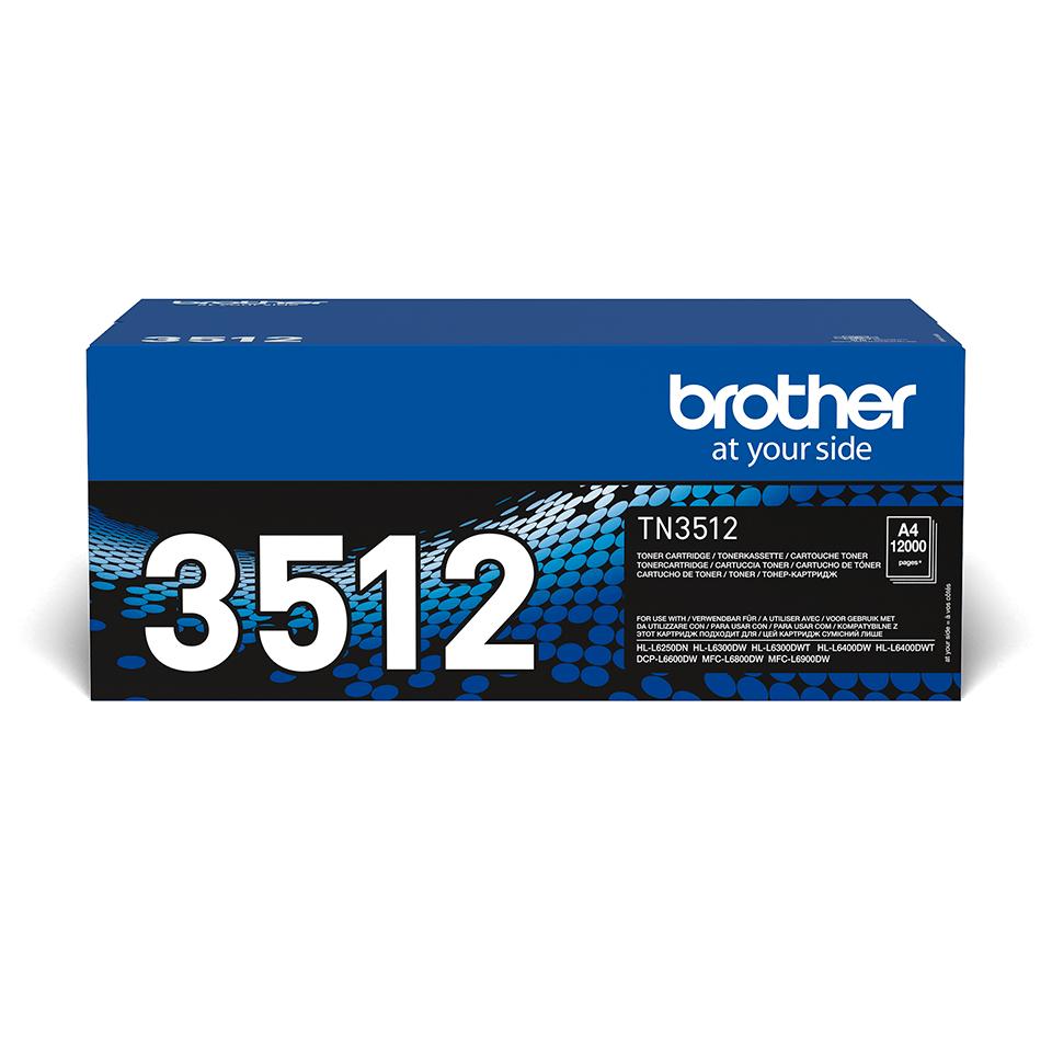 Originální tonerová kazeta Brother TN-3512